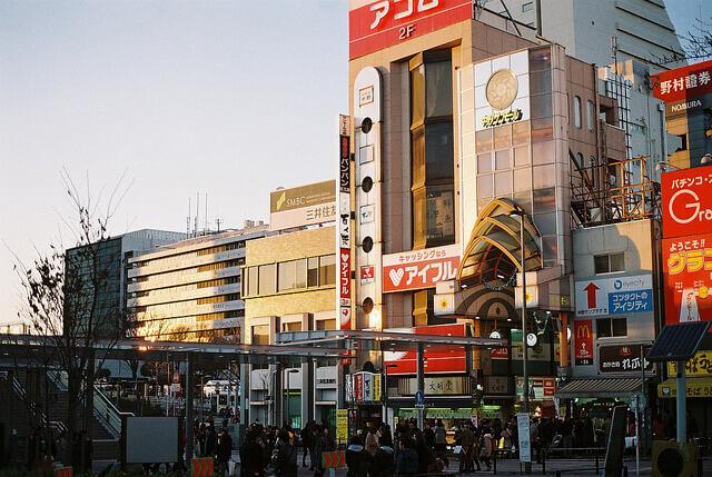 中野駅前の様子(バイト紹介用)