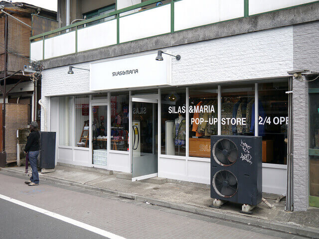 SILAS MARIAの店舗の様子