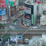 新宿駅前の様子(バイト編)