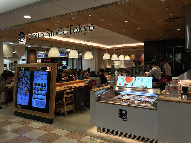soup stock tokyoの店舗の様子