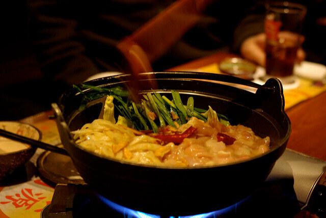もつ鍋料理