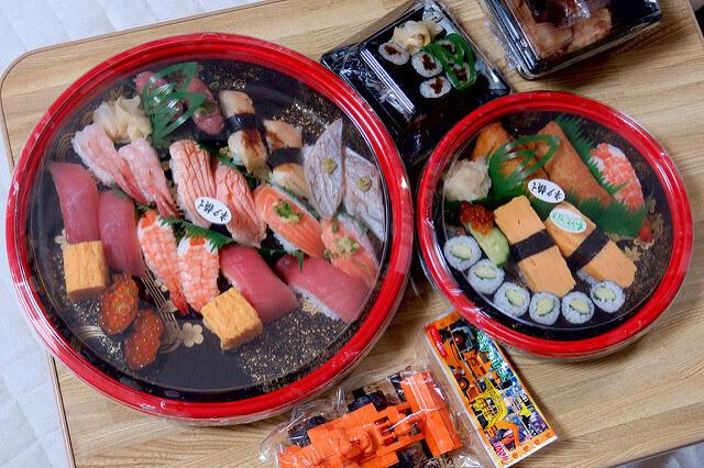 銀のさらの宅配寿司