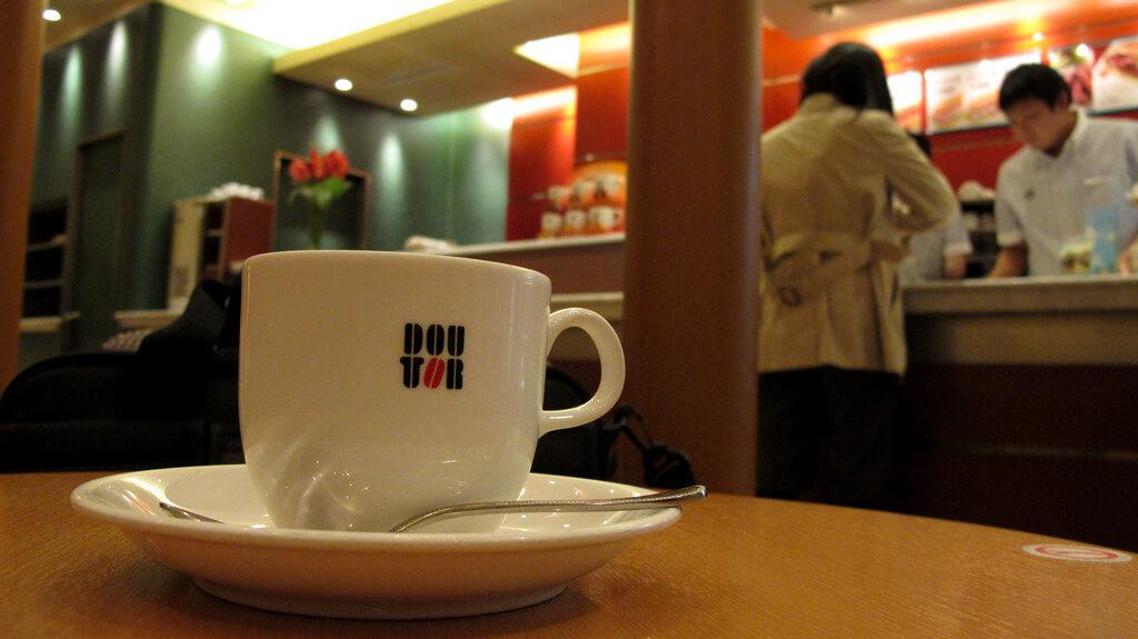 ドトールのコーヒーカップ