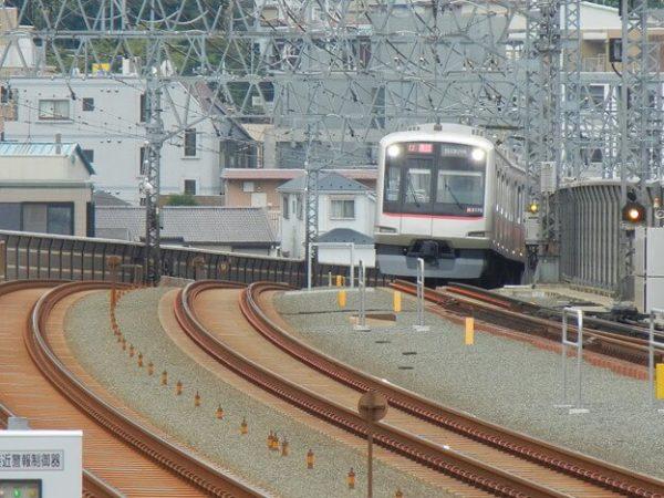 綱島駅からの眺め
