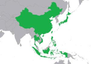 アジアに進出するファミリーマート