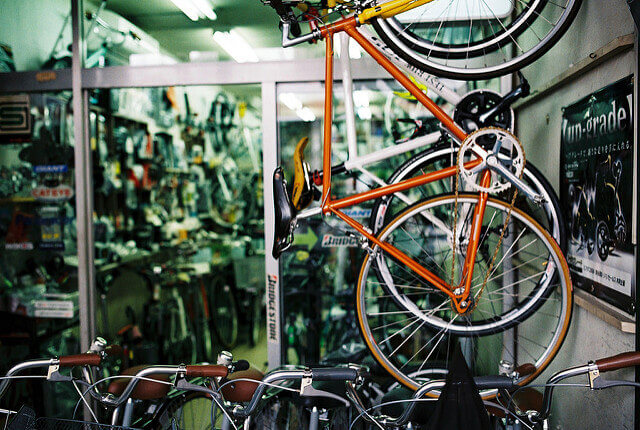 自転車屋(イオンバイク)